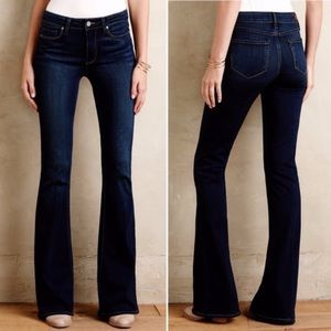 Paige Bell Canyon Flare Jeans Size 27 x 33L Blue